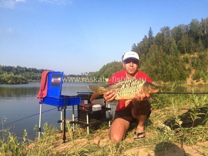 рыбалка рядом с тучково