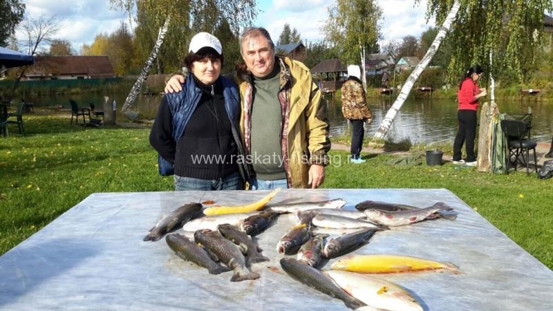 рыбалка в одинцовском районе раскаты