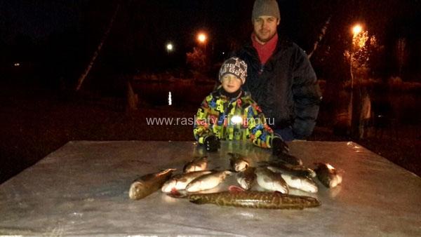 рыболовная база раскаты липки