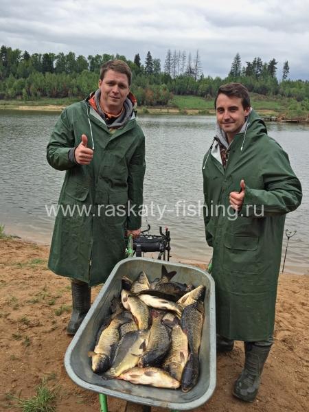 рыбалка на карьерах в тучково