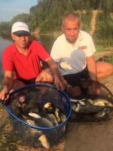 Тренировка команды Fishbait